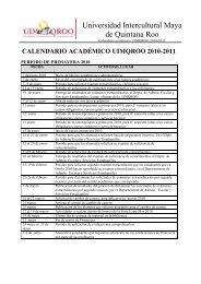 calendario académico uimqroo 2010-2011