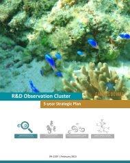 R&D Observation Cluster 5-year Strategic Plan - Campus do Mar