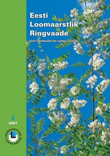 2007 Ringvaade nr.: 2 TEOORIA JA PRAKTIKA Â« Kaskaad Â« - Eesti ...