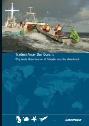 Trading Away Our Oceans - World Trade Organization