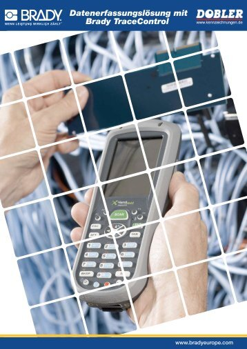 Datenerfassungslösung mit Brady TraceControl - Kennzeichnungen ...