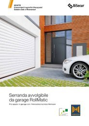 Serranda avvolgibile da garage RollMatic - Hörmann