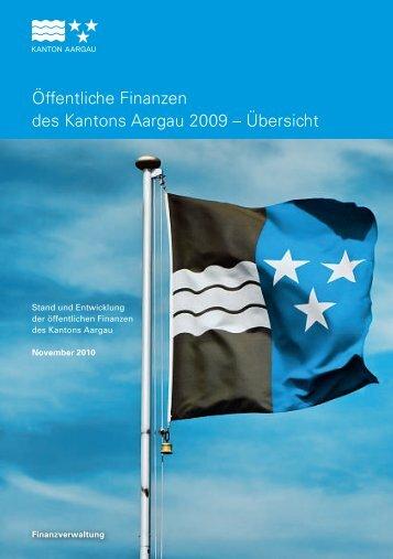 Öffentliche Finanzen des Kantons Aargau 2009 - Gemeinde ...