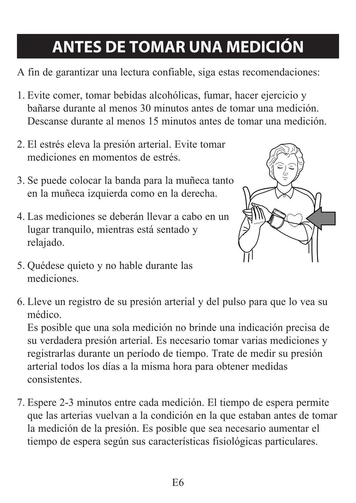 Lectura de la presión arterial 174 sobre 113