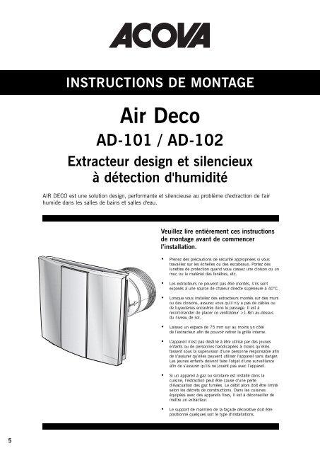 AIR DECO notice.pdf - Acova