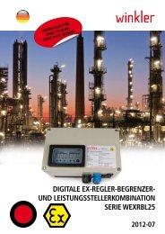 Ex-Regler-Begrenzer - Winkler GmbH
