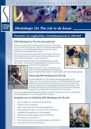 Workshops On The Job in de bouw - Step