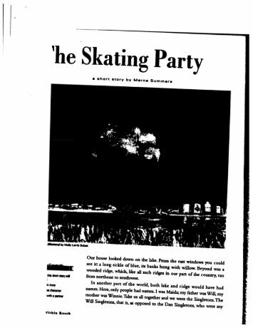 The Skating Party