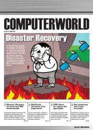 Disaster Recovery - Computerworld