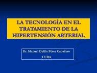 la tecnología en el tratamiento de la hipertensión arterial