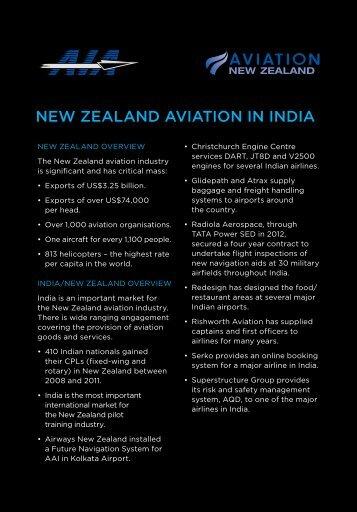 NEW ZEALAND AVIATION IN INDIA - Aviation NZ