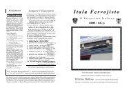 127 disastri - Federazione Esperantista Italiana