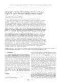 Modelling of erosion. - am Institut für Geowissenschaften - Page 3