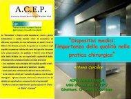 relazione dr. corcione - fareonline.it