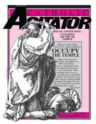 April 2012 Agitator web - Los Angeles Catholic Worker