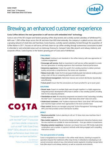 """core competences costa coffee Caribou coffee: a strategic the concept of """"core competencies"""" has been described as the """"collective learning of an organisation"""" (that involves."""