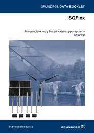 Grundfos SQFlex Renewable Energy Solutions Catalogue - Incledon