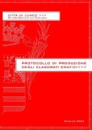standardizzazione di elaborati di disegno - Comune di Cuneo