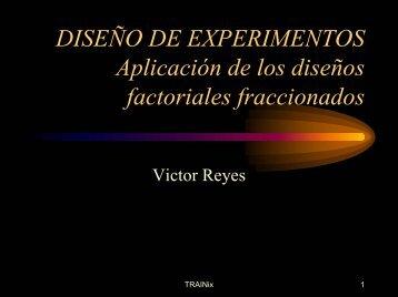 DISEÑO DE EXPERIMENTOS Aplicación de los diseños factoriales ...