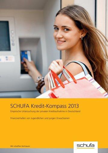 (PDF) SCHUFA Kredit-Kompass 2013