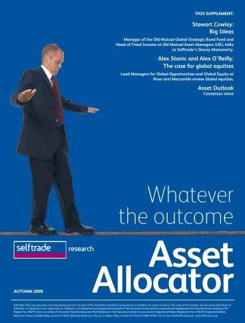 Asset Allocator - Self Trade