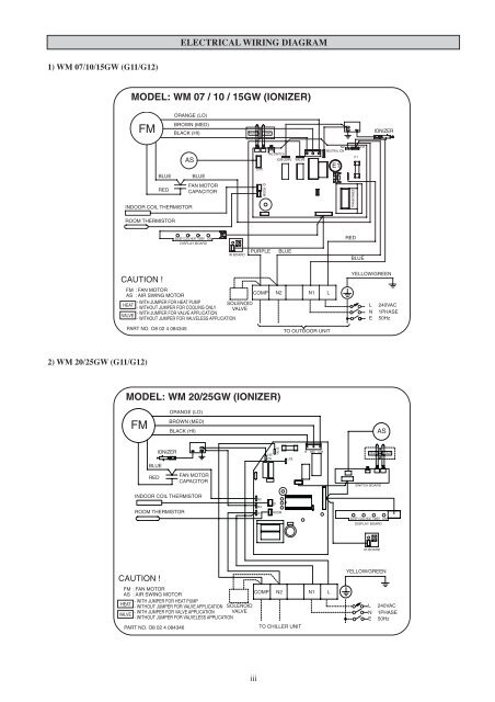 Fan Coil Unit Wiring Diagram