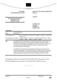 15921/05 tr/DKE/mb 1 DG C I RAT DER EUROPÄISCHEN UNION ...