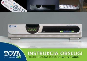 Instrukcja odbiornika SD (Intek C311CX) - Gawex