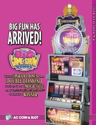 Big_Game_Show_Sell_Sheet - AC Coin And Slot