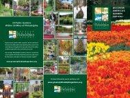 Greater Philadelphia Gardens brochure