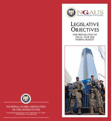 top legislative priorities - National Guard Association of the U.S.