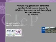 Diapositive 1 - ALTE