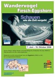 Flyer Wandervogel 08 - InfoZentralschweiz.ch