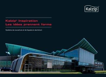 Kalzip® Inspiration Les idées prennent forme