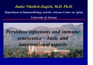 Persistent infections and immune senescence ... - GLOBE Network