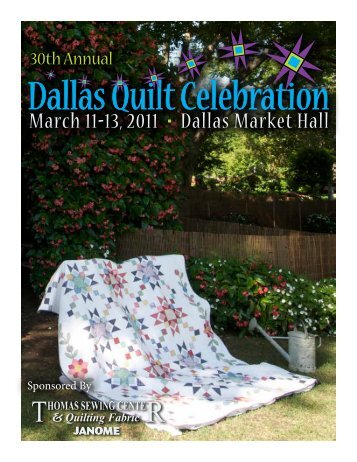 Sponsored By - Quilter's Guild of Dallas