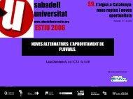 Accés a la ponència en format PDF (1'42 MB) - Sabadell Universitat