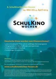 8. SchulKinoWochen Hessen 24. März bis 4. April 2014 Hessische ...