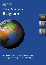 Belgium - MGI