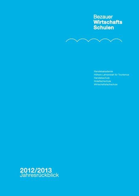 2012/2013 - Bezauer Wirtschaftsschulen
