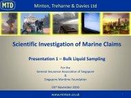Bulk Liquid Sampling - General Insurance Association Of Singapore
