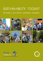 Sustainability Toolkit [PDF: 5.3MB - new window] - Quakers