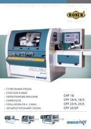 CHF 18 CPF 18/4, 18/5 CPF 23/4, 23/5 CPF 23/5P - Rojek, a.s.