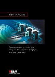 Flyer VARIOline, 2006 - R&M Connections