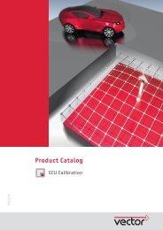 Vector Catalog ECU Calibration