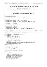 Präsenzübungsblatt Nr. 7 - Ls6-informatik.uni-dortmund.de