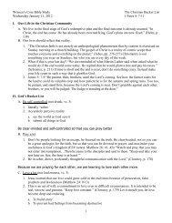 Women's Core Bible Study - New Life Presbyterian Church (PCA ...
