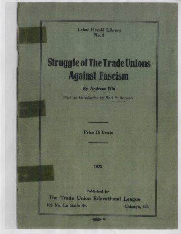 08-Struggle of TU vs Fascism