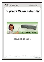 Digitální Video Rekordér - Nové IP kamery Vivotek