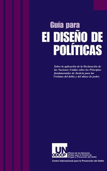 UN Guide for Policy Makers (Guia para El Diseno de Politicas ...